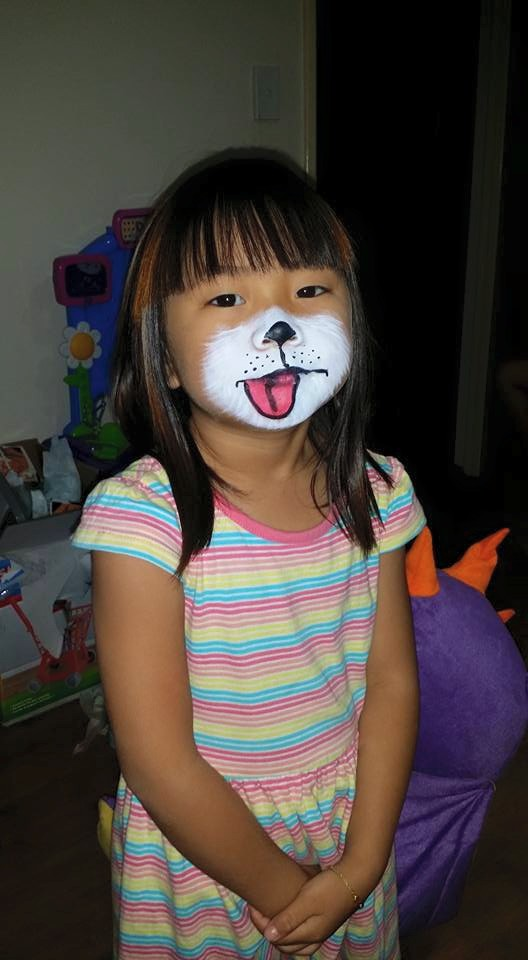 Dog-Face-Painting