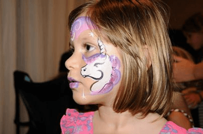 Unicon-horse-face-painting
