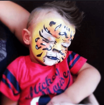 litte-tiger-face-painting