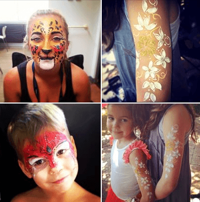 spiderman-and-butterfly-face-painting