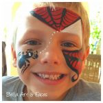 Spider-Face-Painting