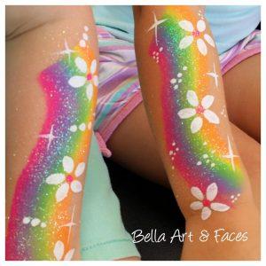 Face-Painting-Rainbow