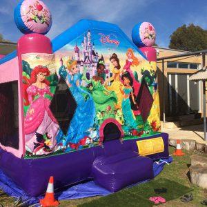 Princess Jump Bouncy Castle Perth