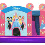 Princess Bouncy Castle Slide