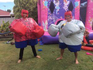 Super Hero Sumo Suits