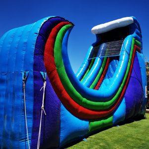 Rampage Water Slide - Perth Bouncy Castle Hire