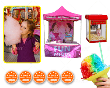fun foods banner - perth bouncy castle hire