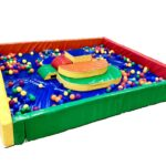 soft play pit hire with balls