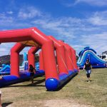 inflatable arches at jump around