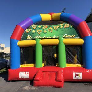 St Patricks Day Bouncy Castle