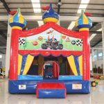 Circus Bounce with Monster Trucks and Planes Banner
