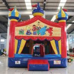 Circus Bounce with Sesame Street Banner