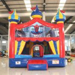Circus Bounce with Spiderman Banner