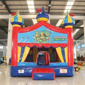 Circus Bounce with Teenage Mutant Ninja Turtles Banner