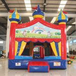 Circus Bounce with Unicorn Banner
