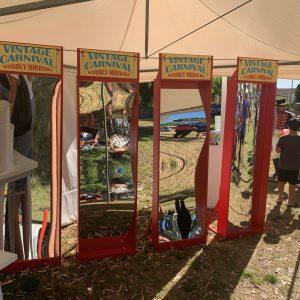 Wacky Wobbly Mirrors - Perth Bouncy Castle Hire