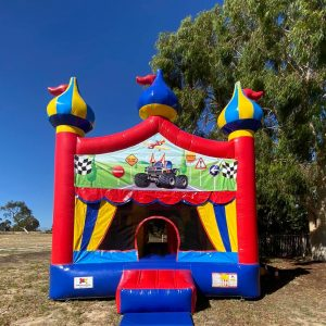 Cars Planes and Trucks circus bounce